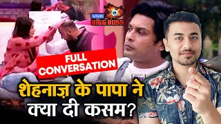 Bigg Boss 13 | Shehnaz's Father FULL CONVERSATION With Daughter | FAMILY WEEK | BB 13 Latest Video