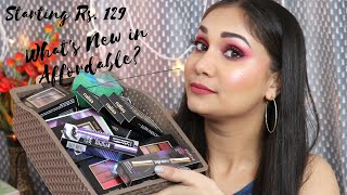What's new in Affordable | Eyeshadows, Highlighters & Lipsticks Starting Rs. 129 | Nidhi Katiyar
