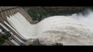 Beautiful Water Flow #Srisailam Dam | Superb View Of Heavy Inflow Of Flood Water | Entertainment