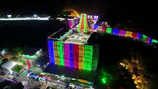 Durga Temple Night View Dasara 2019 | Night Drone Flying | News Online Entertainment