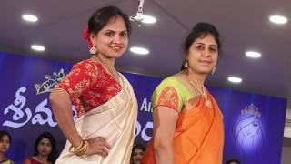 Amaravathi Aunty Group Ramp Walk Fashion Show   Social Media Live