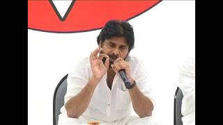 PawanKalyan's proposed long march | Vizag For Construction Workers | social media live