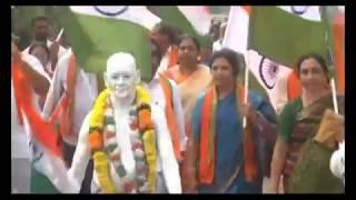 Gandhi Sankalpa Yatra | Bjp Leader Daggubati #Purandeswari | social media live
