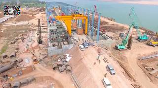 polavaram project up to date work | drone shooting | social media Live Stream