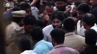 Pawan Kalyan Grand Entry | Visakhapatnam Long March | social media live Live Stream