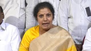 టీడీపీ వైసీపీ ప్రభుత్వాలు రైతులకు సమాధానం ఇవ్వాలి..|| Daggubati Purandeswari || social media live