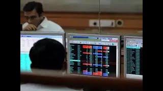 Sensex falls 100 points, Nifty below 12,350; YES Bank drops 3%
