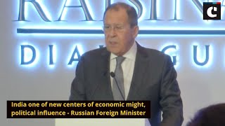 India one of new centers of economic might, political influence - Russian Foreign Minister