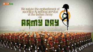 We salute the embodiment of sacrifice & selfless service of the Indian Army on Army Day.