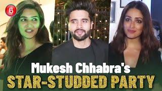 Yami Gautam, Jackky Bhagnani, Kriti Sanon Attend Mukesh Chhabra's Star-Studded Party