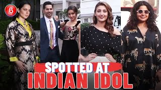 Varun Dhawan-Shraddha Kapoor, Kangana Ranaut-Ashwiny Iyer Tiwari, Dhvani Bhanushali At Indian Idol