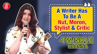 Twinkle Khanna Has The BEST Piece Of Advice For Any Writer | Mrs. Funny Bones