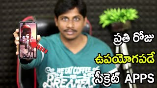 SURPRISING Android Apps you Must Try telugu