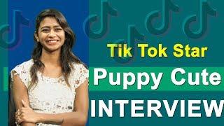 Tik Tok Puppy Cute Interview   Top Telugu TV Tiktok Puppy Cute Interviews   Full Interviews
