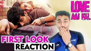 Love Aaj Kal  First Look Poster Reaction | Review | Sara Ali Khan, Kartik Aaryan | 14th Feb 2020