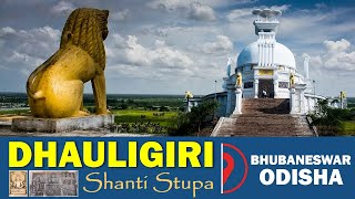 Dhauli Giri Shanti Stupa at Bhubaneswar, Odisha | ଧଉଳିଗିରି ଶାନ୍ତି ସ୍ତୁପ | Satya Bhanja