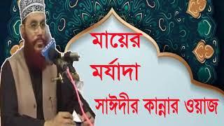 মায়ের মর্যাদা নিয়ে সাঈদীর মন কাড়া ওয়াজ । Bangla Islamic Lecture | Allama Saidi Bangla Waz Mahfil