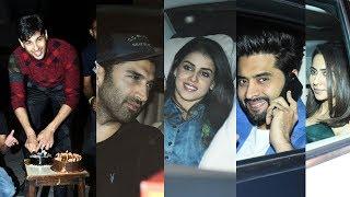 Sidharth Malhotra Celebrates Birthday with Media And Bollywood Celebs