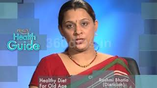 Healthy and Special Diet Chart To Old Age | https://beingpostiv.com/
