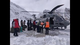 Chadar Trek: IAF says 71 trekkers brought to safety after Zanskar flooding, rescue ops still on