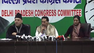 Delhi Assembly Election 2020 | Press Briefing By Subhash Chopra, Mukesh Sharma and Alka Lamba