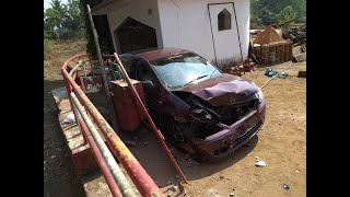 Accident On Balli-Quepem Road