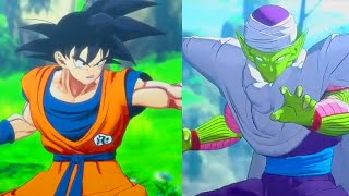 Goku vs Piccolo First Fight Scene with Gohan Dragon Ball Z Kakarot