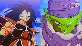 Piccolo meets Raditz Piccolo vs Raditz Fight Dragon Ball Z Kakarot