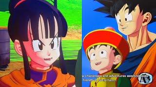 Chi-Chi Reminds Goku to gift Dragon Ball to Gohan Dragon Ball Z Kakarot