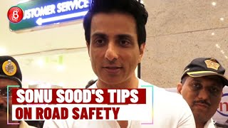 Sonu Sood Gives Most Important Road Safety Tips