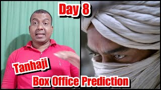 Tanhaji Box Office Prediction Day 8