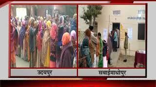 Rajasthan Panchayat Election 2020 | राजस्थान पंचायत चुनाव के पहले चरण का मतदान जारी
