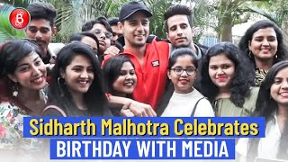 Sidharth Malhotra Obliges Fans & The Media With Selfies & Pictures | Birthday Bash