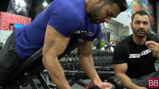Bigger Arms Workout with OLYMPIAN Bhuvan Chauhan! (Hindi / Punjabi)