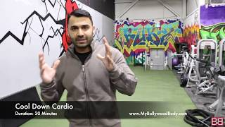 FAT to FIT Cardio Workout! Day-45 (Hindi / Punjabi)