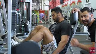 Massive LEGS Workout with OLYMPIAN Bhuvan Chauhan! (Hindi / Punjabi)