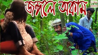 Jongole Okam | জঙ্গলে অকাম  | comedy video | নতুন কমেডি | Nokshi Entertainment HD 2019