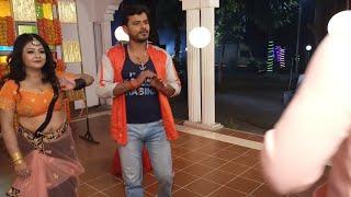 Film के गाने की शूटिंग कैसे होती है, आप भी देखें || Pramod Premi का सुपरहिट Song || Bhojpuri Suting