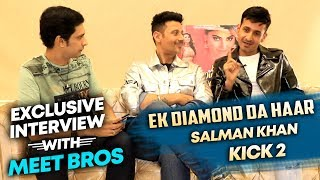Exclusive: Meet Brothers On New Song Diamond Da Haar | Urvashi Rautela | Salman Khan | KICK 2