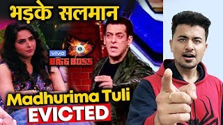 Bigg Boss 13 | Salman Khan THROWS Madhurima OUT Of House | Madhurima EVICTED