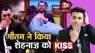 Bigg Boss 13 | Gautam Gulati KISSES Shehnaz Gill; Here's What Happened | BB 13 Video
