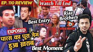 Bigg Boss 13 Review EP 110 | Paras Game Exposed By Salman Khan | Sidharth | Asim Riaz | Rashmi