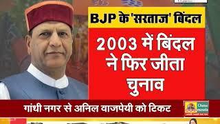 #HIMACHAL_BJP के सरताज बने बिंदल