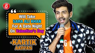 Kartik Aaryan: Will Take Sara Ali Khan On A Date Night On Valentine's Day | Love Aaj Kal