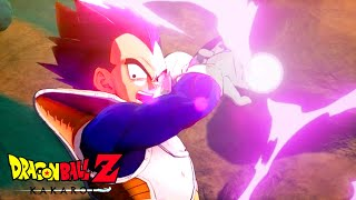 Vegeta vs Cui Fight Scene Dragon Ball Z Kakarot