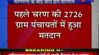 Rajasthan Panchayat Election 2020 | राजस्थान पंचायत चुनाव के पहले चरण की 2726 पंचायतों में हुआ मतदान