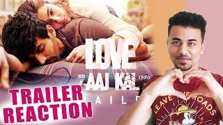 Love Aaj Kal Trailer Reaction   Review   Kartik Aaryan And Sara Ali Khan