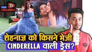 Bigg Boss 13 | Shehnaz Wears A Cinderella Dress; Here's Who Has Sent That Dress | BB 13 Video