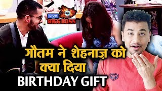 Bigg Boss 13 | Gautam Gulati BIGGEST GIFT To Shehnaz On Her Birthday | BB 13 Latest Video