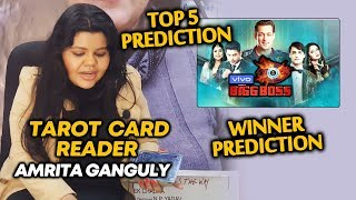 Bigg Boss 13 TOP 5 & WINNER | Tarot Card Reader Amrita Ganguly PREDICTION